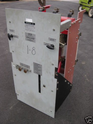 Westinghouse Dfs Air Switch Disconnect 4.16 Kv Enclosed 5Kv 25Y2254B1