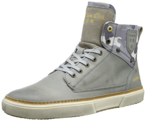 Pantofola d'Oro Mens BENEVENTO BOTANICA HIGH MEN Trainers Gray Grau (Monutment) Size: 6.5 (40 EU)