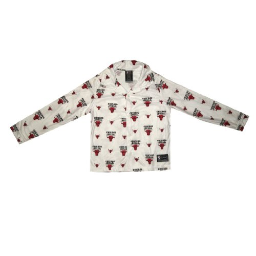 NBA Chicago Bulls Boys Or Girls Fleece Sleepwear Pajama Top