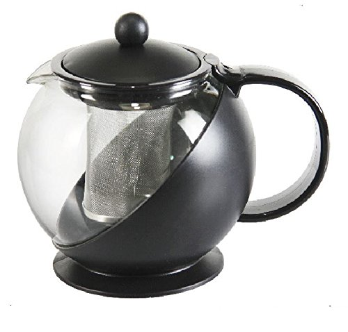A10043 750ml Pl. Tea & Coffee Pot with Stainless Steel Filter 220v 600w fully automatic american coffee machine home automatic mini coffee pot small commercial drip boiled tea one pot