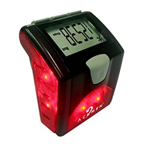 Acumen 14 Function Pedometer with Built-In Safety Light