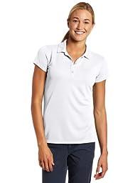 Columbia Women\'s Innisfree Short Sleeve Polo Fishing Shirt (White, Medium)