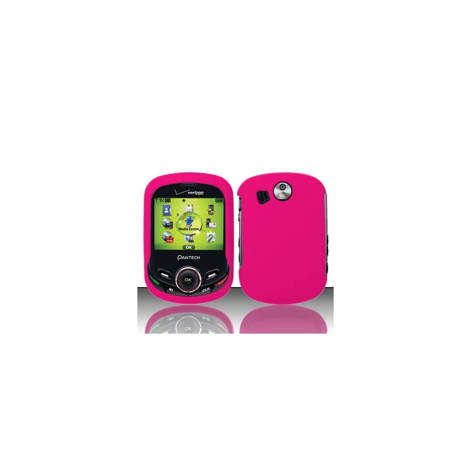 Pink Hard Snap On Case Cover Faceplate Protector for Pantech Jest TXT8045 + Free Texi Gift Box