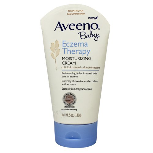 Aveeno Baby Eczema Therapy Moisturizing Cream, 5 Ounce