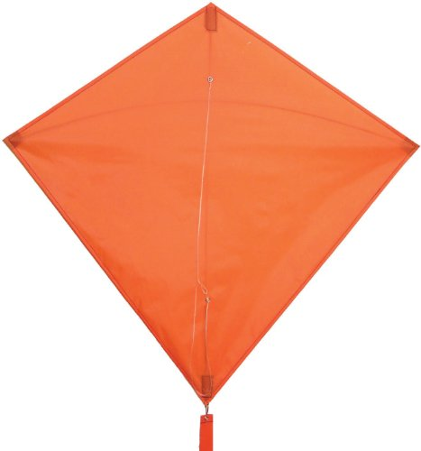 In the Breeze Orange Diamond Kite, 30-Inch