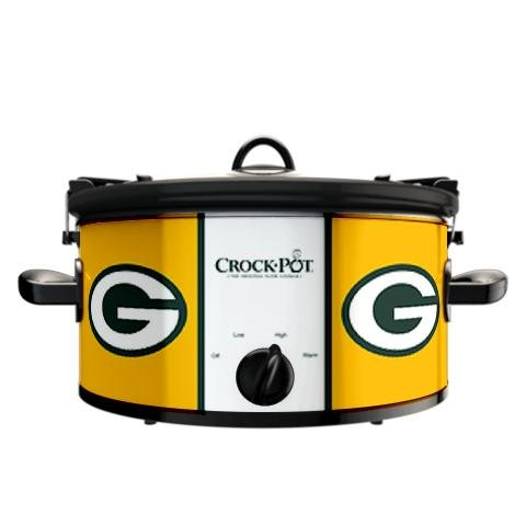Digital Slow Cookers: Official NFL Green Bay Packers Crock-pot Cook & Carry 6 Quart Slow Cooker