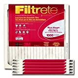 "Filtrete Micro Allergen Reduction Air Filter [Set of 6] Size: 24"" H x 24"" W x 1"" D"