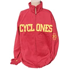 NCAA Iowa State Cyclones Full Zip Sweatshirt by Donegal Bay