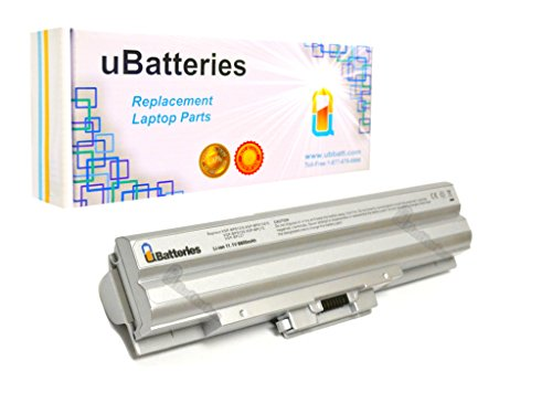 Click to buy UBatteries Laptop Battery Sony VAIO VGN-CS290JDW - 6600mAh, 9 Cell (Silver) - From only $25.95