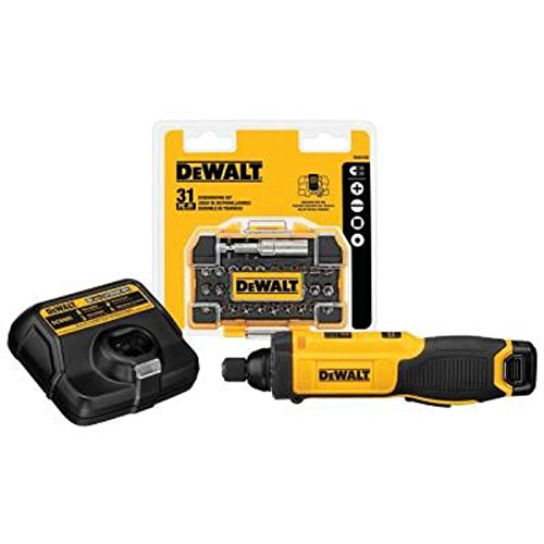 For Sale! Dewalt 8-Volt Max Lithium-Ion 1/4 in. Hex Cordless Gyroscopic Screw Driver Bundle DCF682N1...