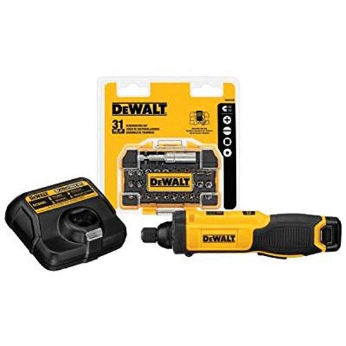 For Sale! Dewalt 8-Volt Max Lithium-Ion 1/4 in. Hex Cordless Gyroscopic Screw Driver Bundle DCF682N1...