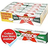 Trebor Peppermint Extra Strong Gum Sugarfree (Pack Of 30
