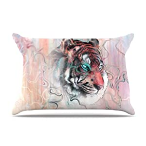 Kess%20InHouse Kess InHouse Mat Miller Illusive by Nature 36 by 20-Inch Pillow Case, King at Sears.com
