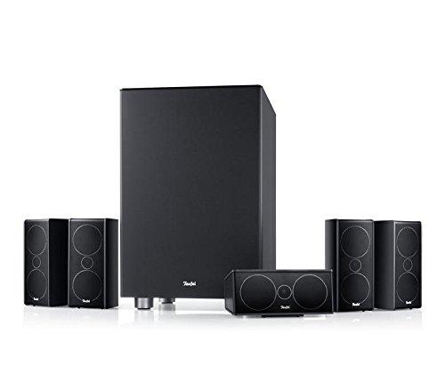 """Consono 35 Mk3 """"5.1-Set"""" Schwarz thx DVD dts hd Komplettanlagen 5.1 Soundanlage surround Kino 3d arc dolby digital Lautsprecher bassreflex bd"""