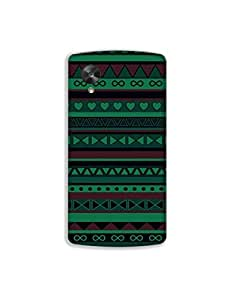 Google Nexus 5 nkt02 (58) Mobile Case by Mott2 - Dark Shade Trible (Limited Time Offers,Please Check the Details Below)