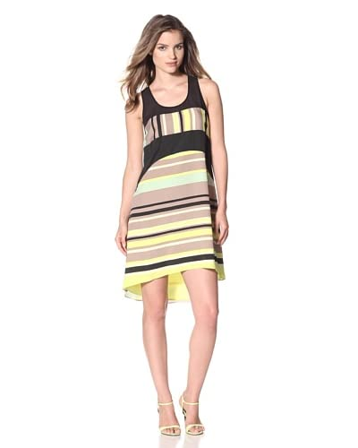 Jessica Simpson Women's Striped A-Line Dress