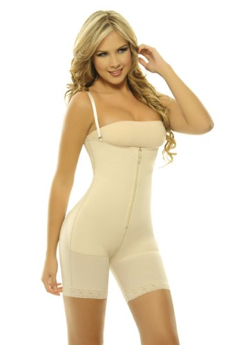 Body Shapers Posture Correcting Bra Pre Formed Cup Fajas Shapewear Nude