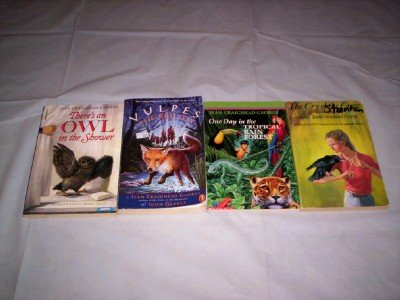 Jean Craighead George - (Set of 4) - Not a Boxed Set (Vulpes The Red Fox - One Day in the Tropical Rain Forest - The Cry of the Crow - There's an Owl in the Shower) (Vulpes The Red Fox compare prices)