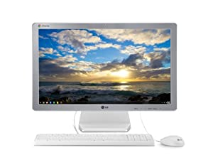LG ChromeBase 22CV241-W 22-Inch All-in-One Cloud Desktop
