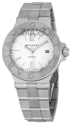 Bvlgari Diagono Steel Mens Watch DG40C6SSD