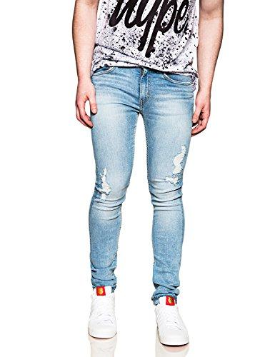 cheap-monday-uomo-stretta-slim-fit-worn-sguardo-jeans-blu-blu-w36