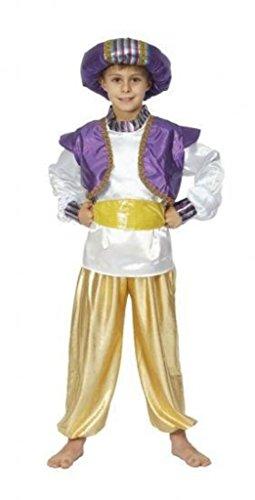 [Costume Boy: Aladdin - Medium] (Aladdin Costume For Boy)