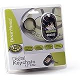 Gear Head 1.5-inch Digital Keychain (TFT) (Leather Grain)
