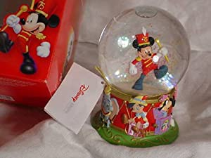 Walt Disney Mickey's 75th Anniversary Special Edition Collectible Snow Globe by The Disney Store
