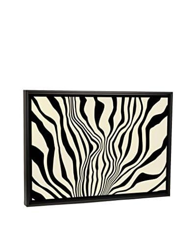 Modern Art Zebra Print Canvas Print