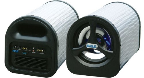 Pyle PLTA8N 8-Inch 250 Watt Amplified Subwoofer Tube