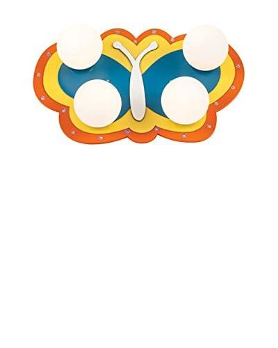 Light&Design Plafón Papilio Multicolor