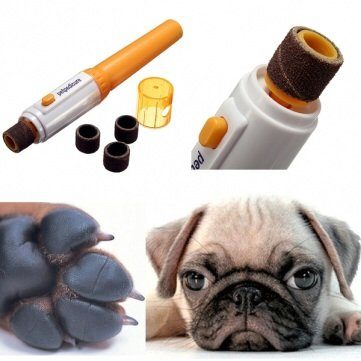 Pet Dog Cat Electric Nail Trimmer Grooming Tool Care Grinder Clipper