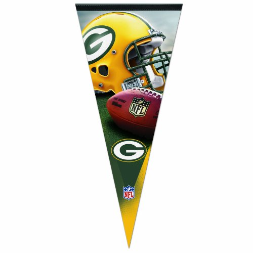 NFL Green Bay Packers 17-by-40 Premium Quality Pennant by Wincraft