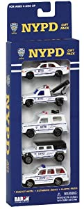 Daron Nypd Vehicle Gift Set, 5-Piece
