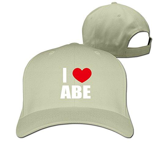 adult-i-love-abe-i-love-abraham-heart-cap-natural