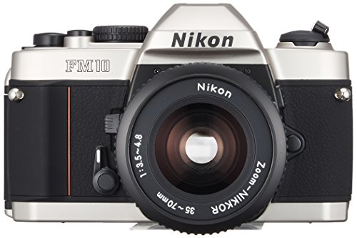 Nikon discount duty free Nikon Single-lens Reflex Camera Fm10 Standard-set (Fm10 Body and Ai Zoom with Nikko-ru 35~70mm F3.5~4.8s and Camera Case Strap) Mh-24 Is Required.