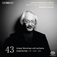 Bach, J.S.: Cantatas, Vol. 43 - Bwv 57, 110, 151