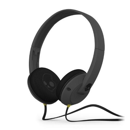 Skullcandy Uprock Carbon Gray On-Ear Head Headphone Corded