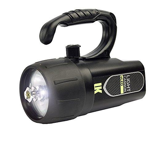 Underwater Kinetics Light Cannon eLED, Lantern Grip, Black 44654