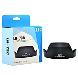 JJC LH-73C Lens Hood Shade For Canon EF-S 10-18mm f/4.5-5.6 IS STM Lens Replaces EW-73C