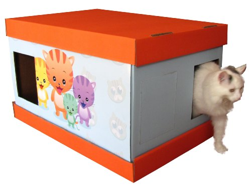 Vanity Litter Box BO4 Customizable for Single or Multiple cats