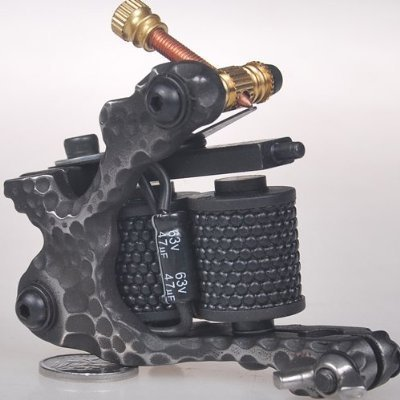 Handmade Cast Iron Tattoo Machine Liner Shader Gun DM-8. (Cast Iron Tattoo compare prices)