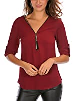 French Code Blusa Miss (Vino)