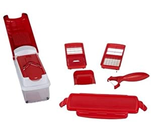 genius nicer dicer plus red color by rightmove available. Black Bedroom Furniture Sets. Home Design Ideas