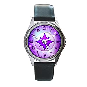 New Wrist Watches XKHD023 NEW* GREEN LANTERN Power Rings Round Metal WATCH Leatherban d