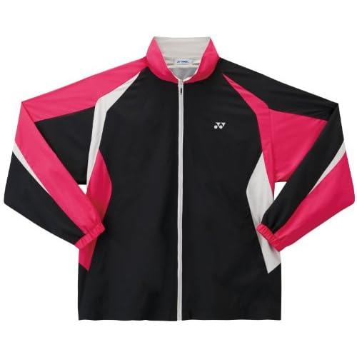 ヨネックス(YONEX) 裏地付ウォームアップシャツ ブラック XO 52000 007