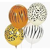 Jungle Animal Print Safari Balloons (50PC)
