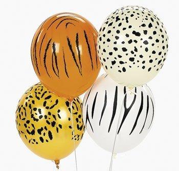 fun-express-jungle-animal-print-safari-party-balloons-11-inch-50-piece-pack