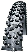 Schwalbe Schwalbe Ice Spiker HS 33 Studded Bicycle Tire (26x2.1, Wire Beaded, Reflex)