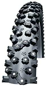 Schwalbe Ice Spiker 26X2.1 Wired Tyre with Kevlarguard 980g (54-559) - Black